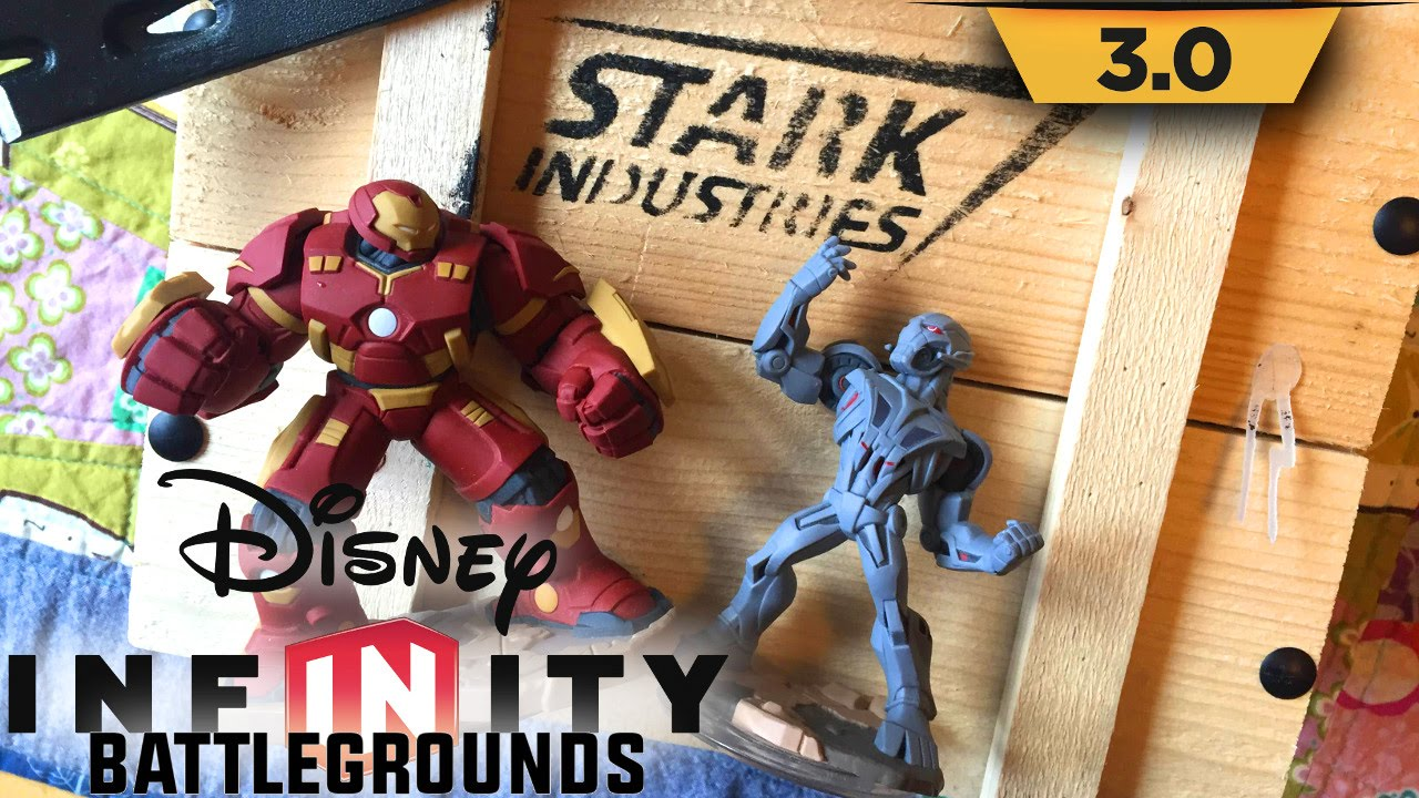 "Disney Infinity ""Stark Industries"" Mystery Box Crowbar Opening"