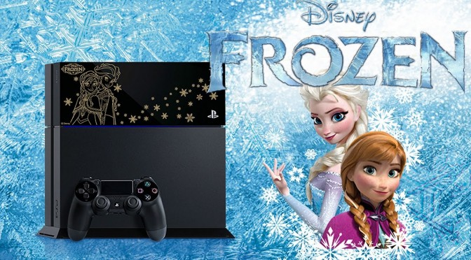 Frozen Limited Edition PlayStation 4 Appears in Japan