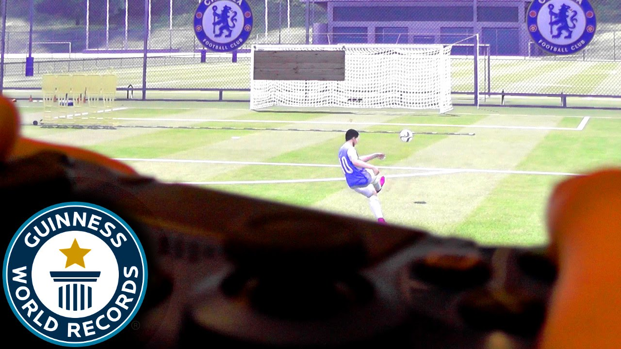 Guiness World Record 2016 – FIFA Crossbar Challenge