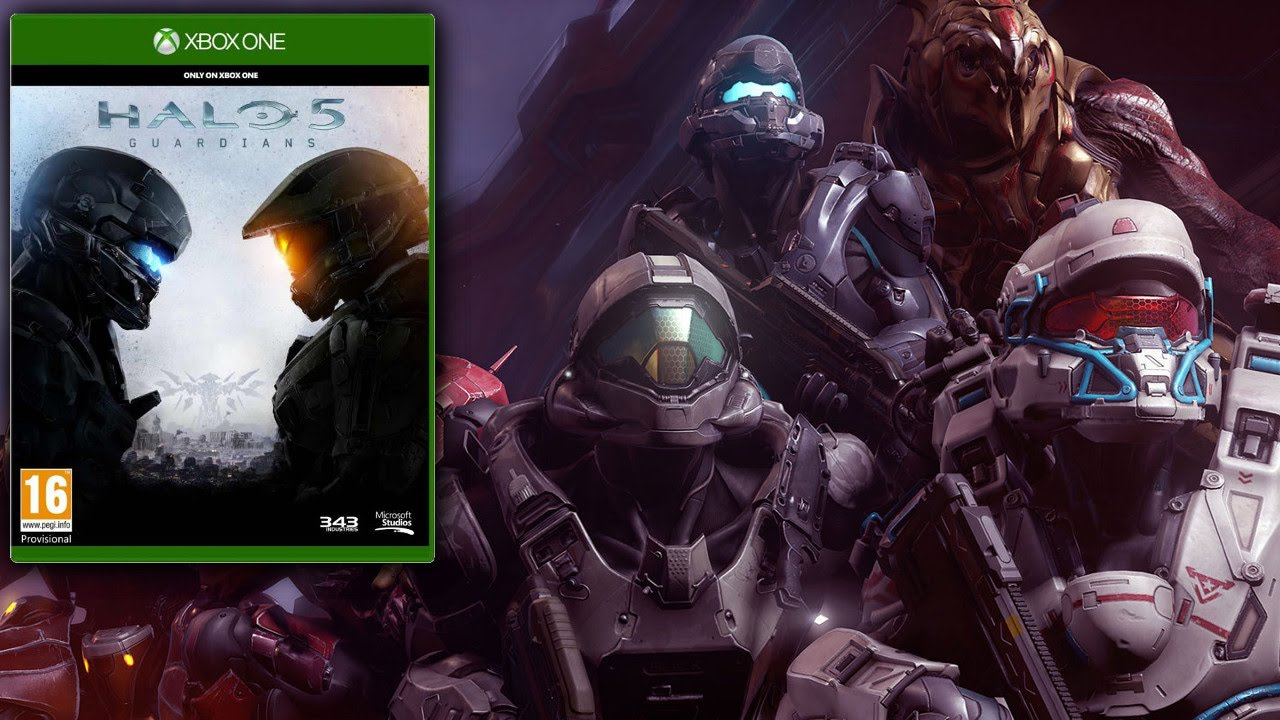 Halo 5 Guardians Guide (PEGI 16+)