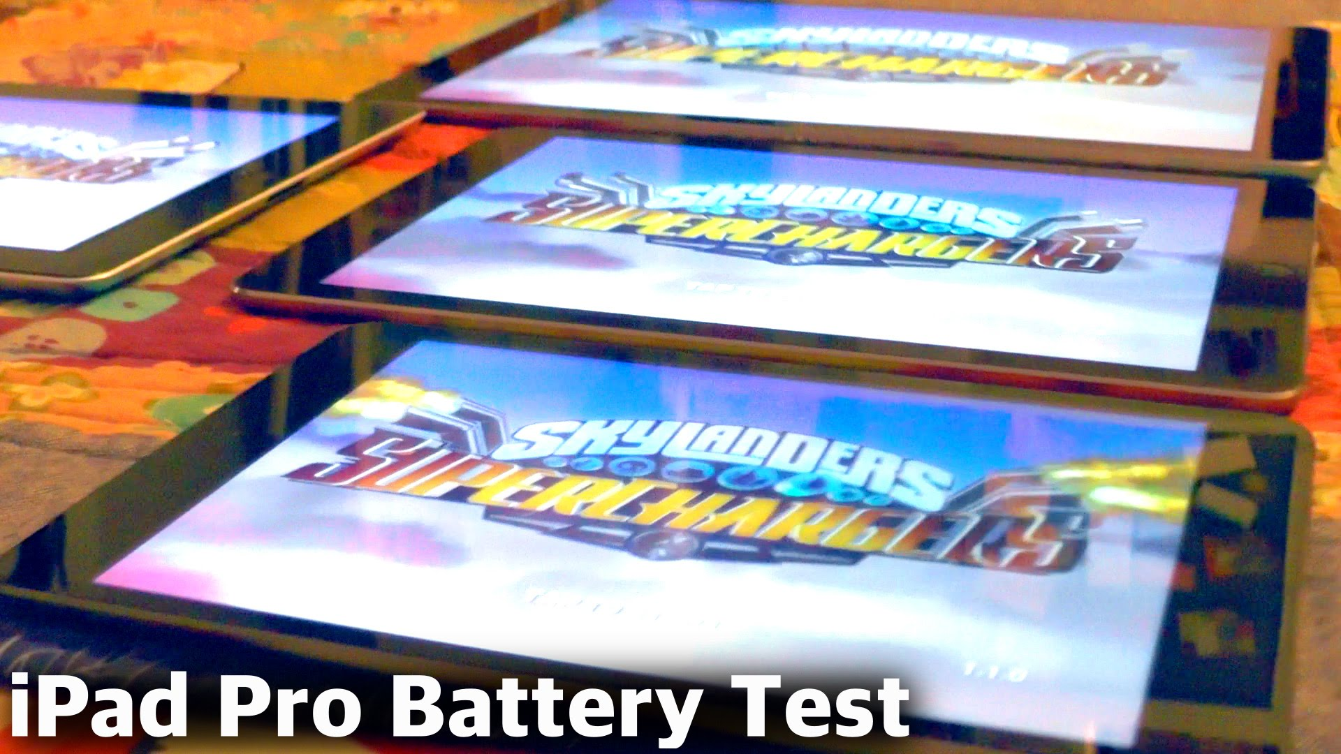 iPad Pro Battery Test vs iPad Air 2, iPad Mini, iPad 3