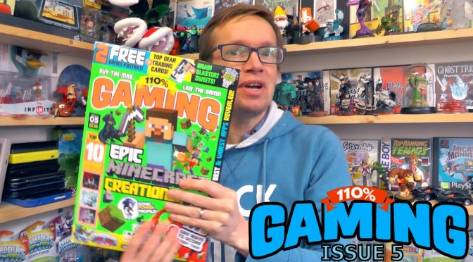 Issue 5 of 110% Gaming (w/ Turbo Attack and Brain Bitz) Live Opening Review