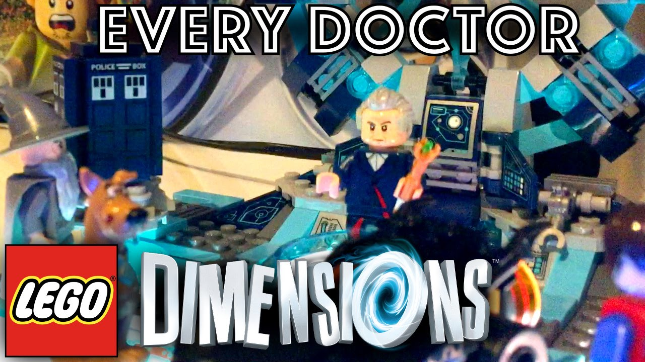 LEGO Dimensions 13 Doctor Who Mini-Figures Game-Play [PS4]