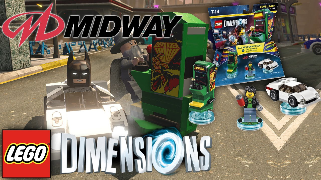 LEGO Dimensions – 20 Midway Arcade Games
