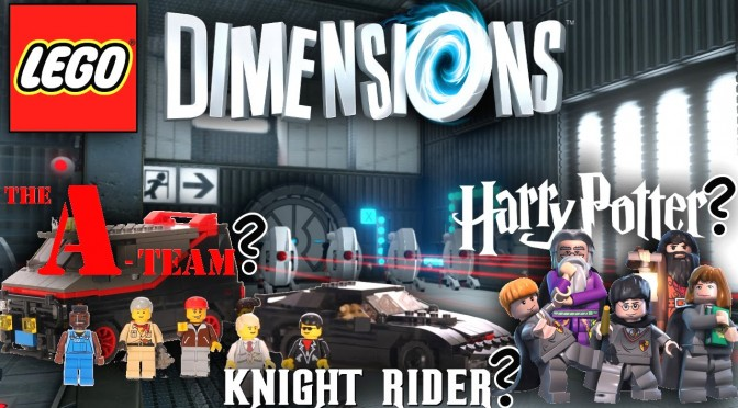 LEGO Dimensions – A-Team, Knight Rider, Harry Potter