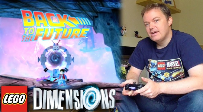 "Lego Dimensions ""Back to the Future"" Open World Guide #3"