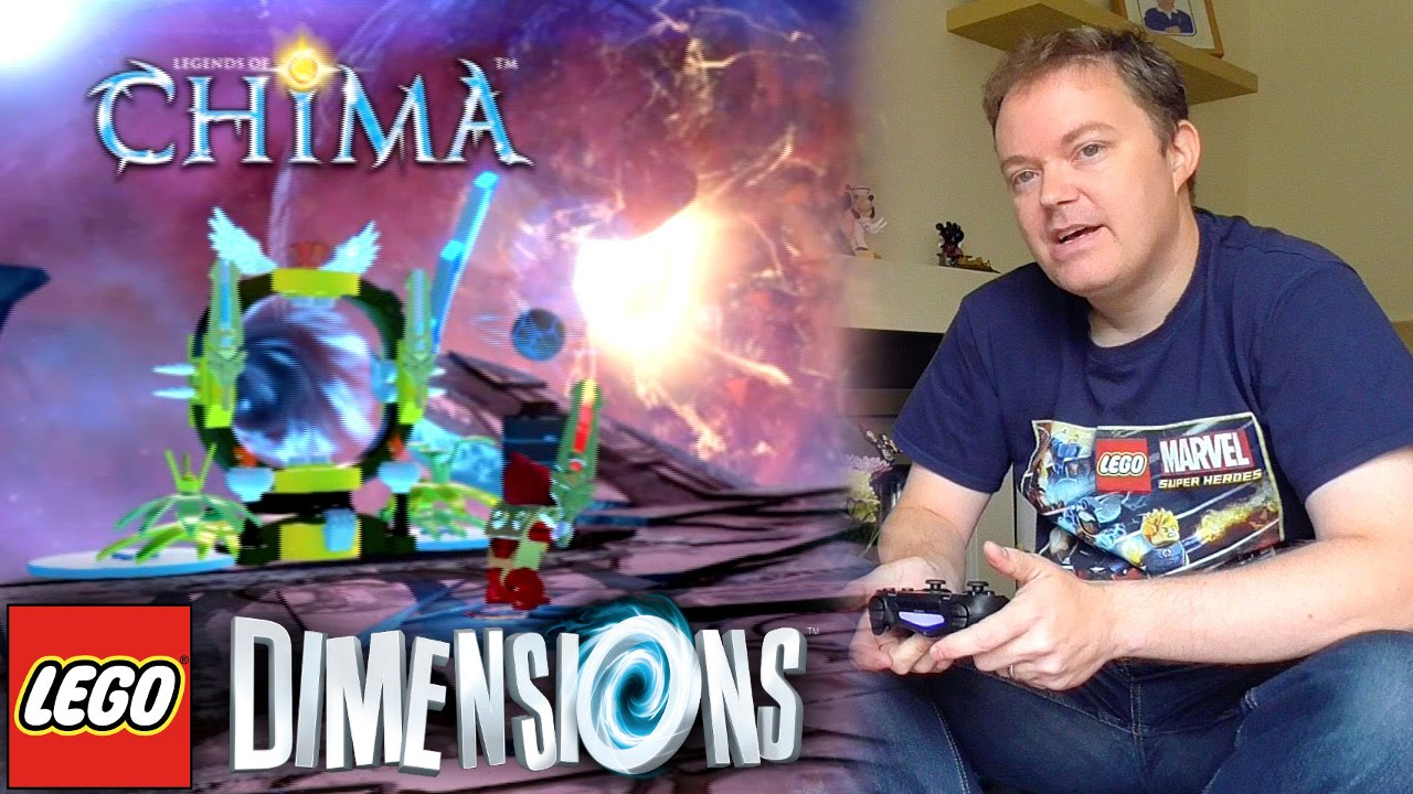 "Lego Dimensions ""Chima"" Open World Guide #8"
