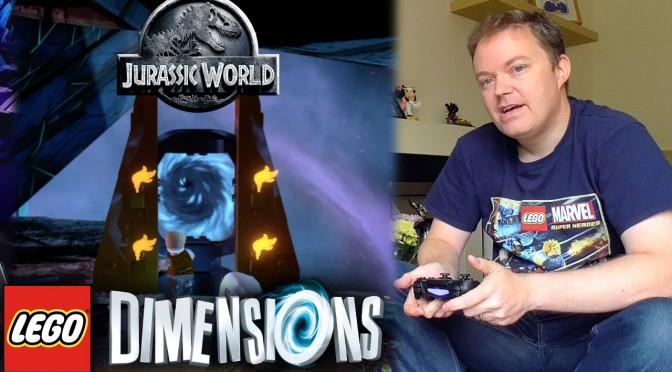 "Lego Dimensions  ""Jurassic World"" Open World Guide #6"