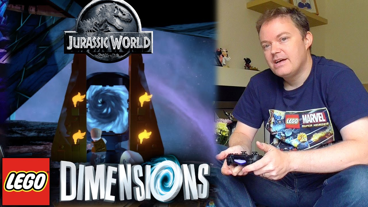 "Lego Dimensions  ""Jurassic World"" Open World Guide #6"
