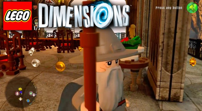 """Lego Dimensions """"The Lord of the Rings"""" Adventure World Guide #11"""