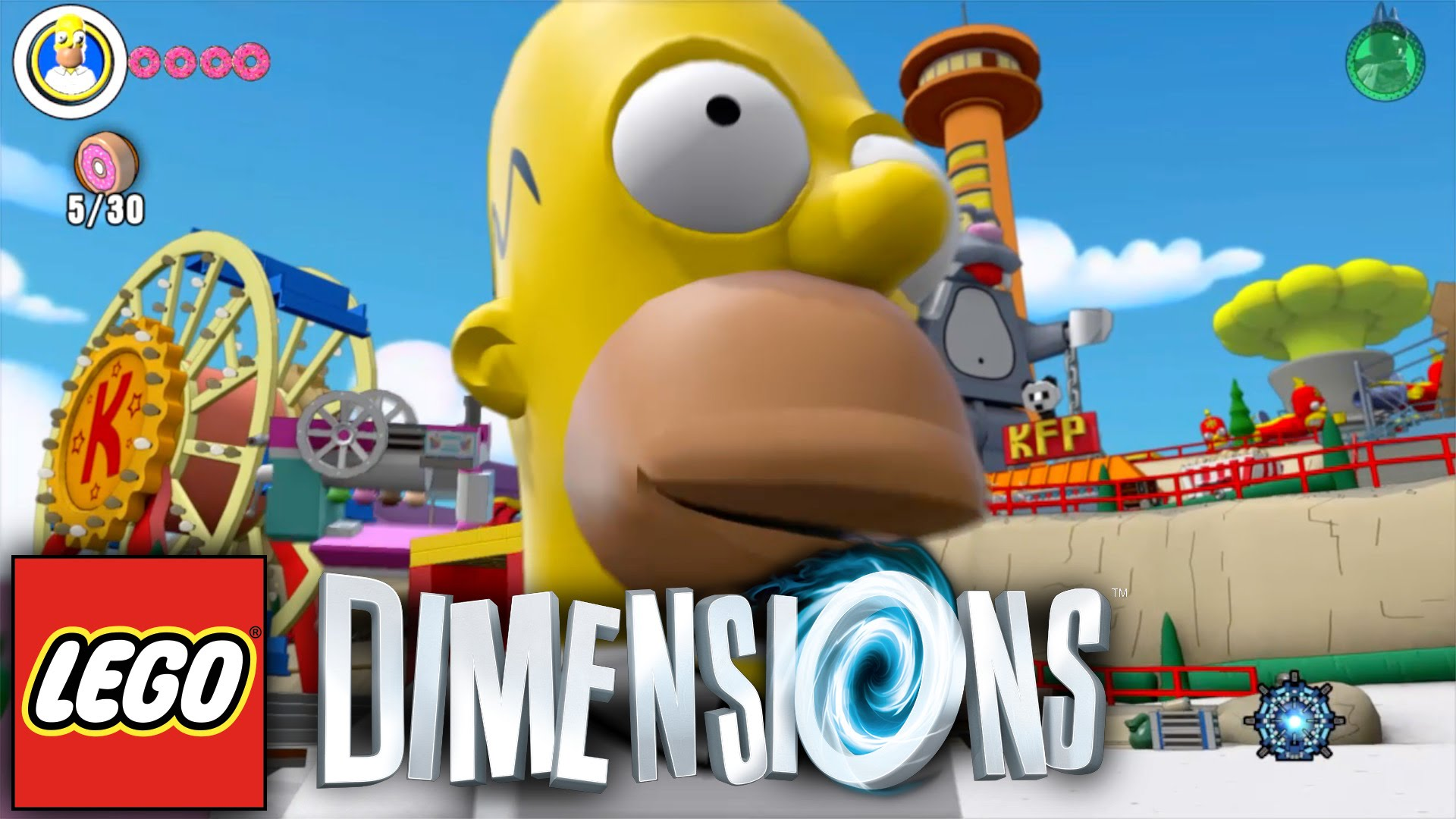 "Lego Dimensions ""The Simpsons"" Adventure World Guide #9"