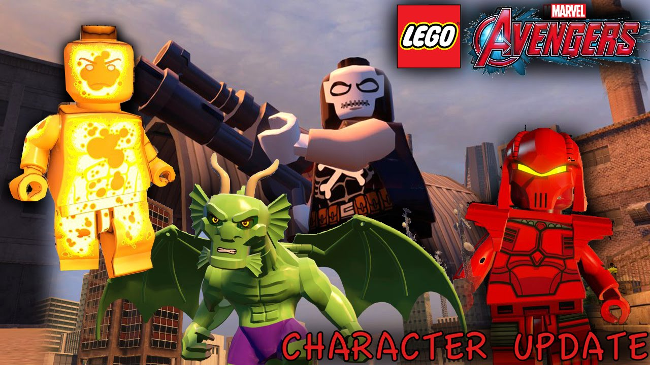 Lego Marvel's Avengers – New Characters Update