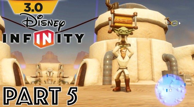 Let's Play Disney Infinity 3.0 – Part 5 Bomb Defusing & Pod Racer Fixing