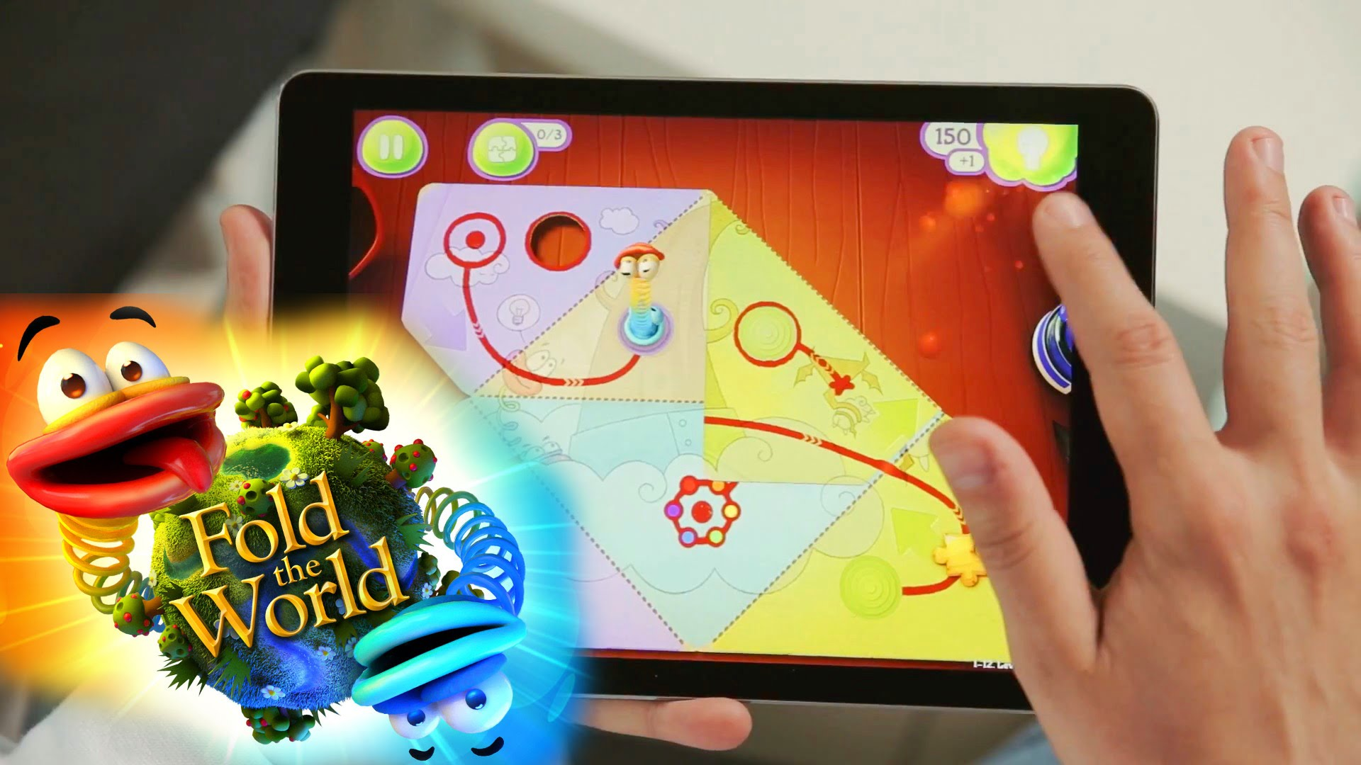 Let's Play Fold The World – iOS / Android