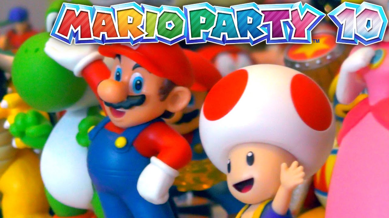 Let's Play Mario Party 10 with the Huo Family