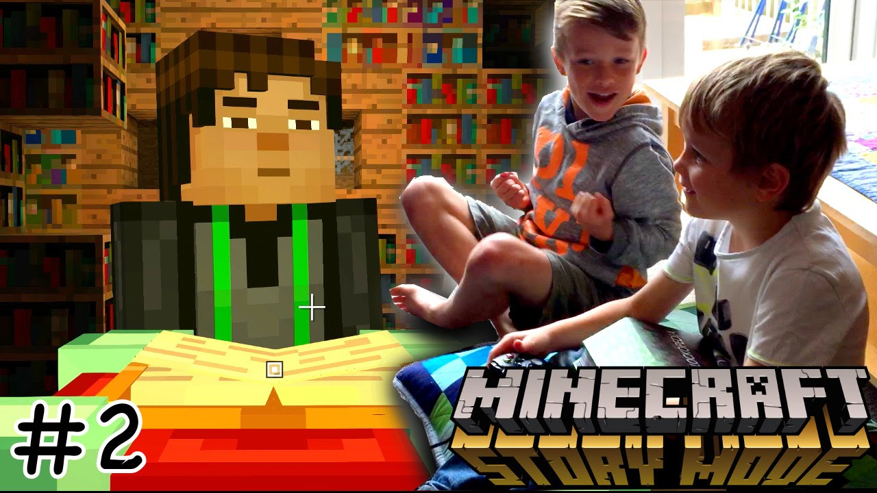 Let's Play Minecraft Story Mode Epsiode 1 #2