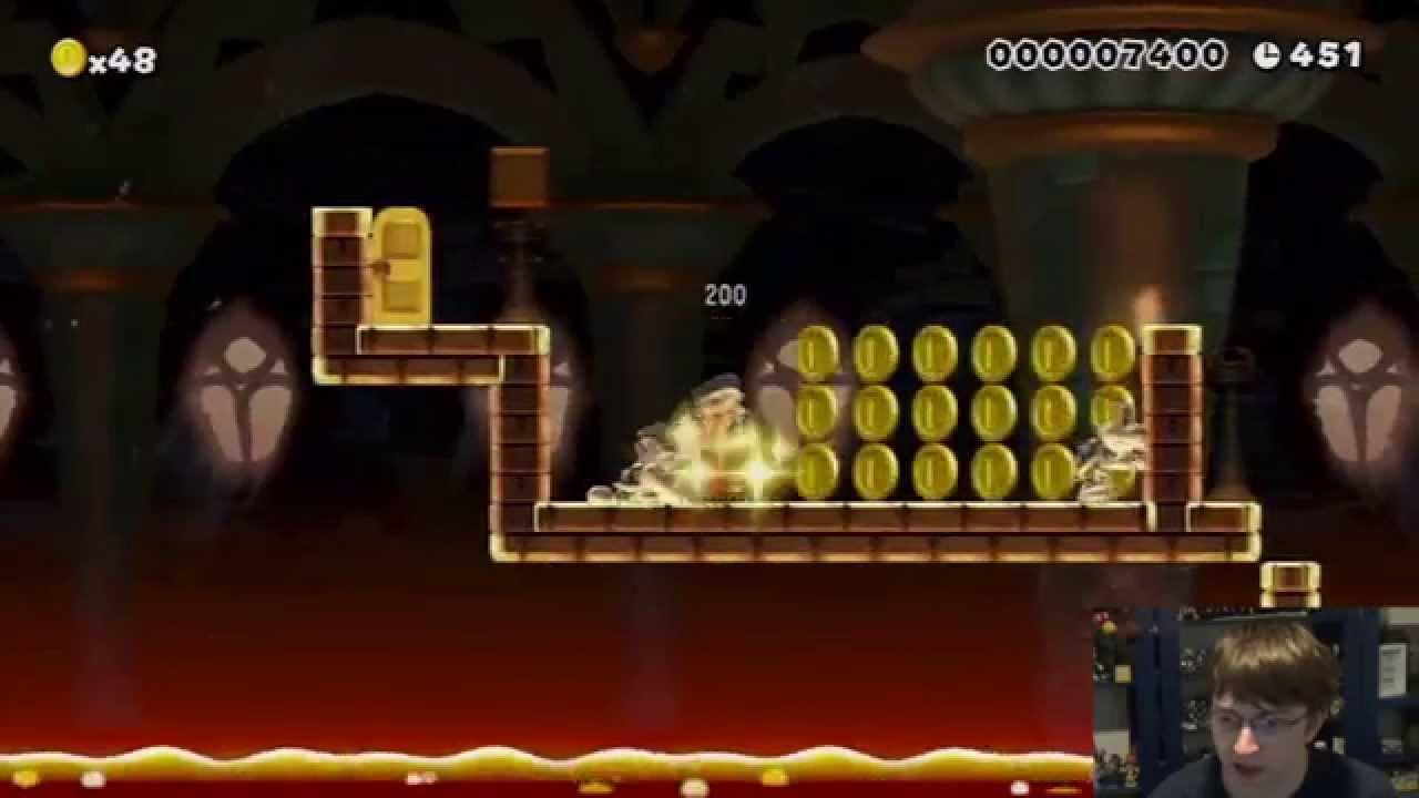 Mario Maker Challenge – Winners Run #1