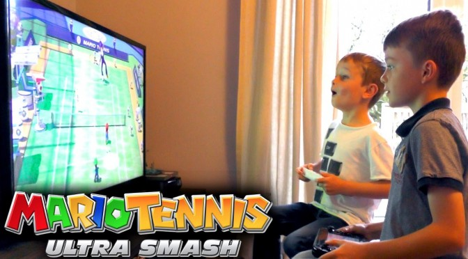 Mario Tennis Ultra Smash Family Fun