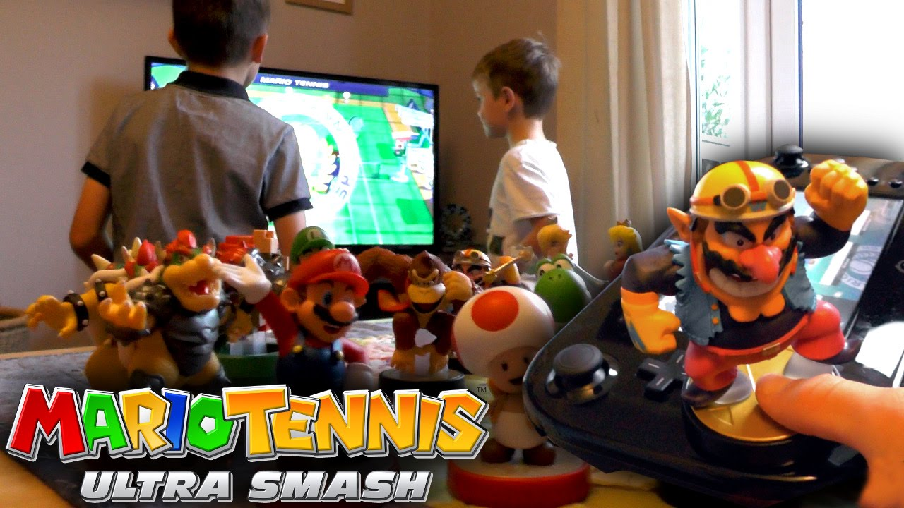 Mario Tennis Ultra Smash on Wii U