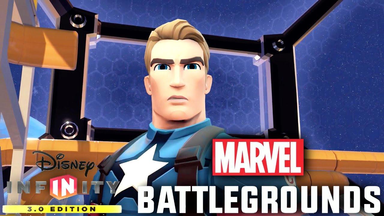 Marvel Battlegrounds Disney Infinity Play Set Analysis