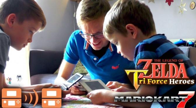 Nintendo 3DS Multiplayer Download Play – Mario Kart & Zelda