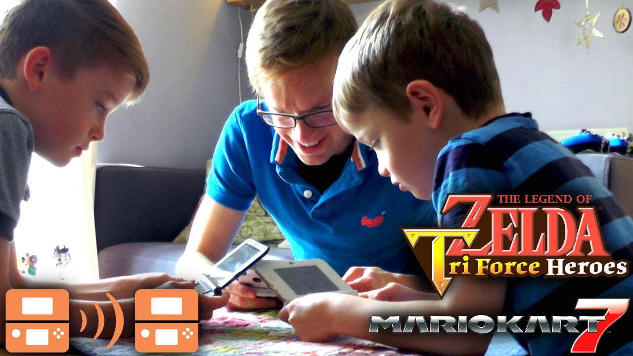 Nintendo 3DS Multiplayer Download Play – Mario Kart & Zelda Tri-Force Heroes