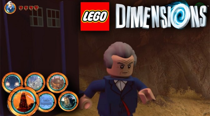 "Lego Dimensions ""Doctor Who"" Open World Guide #12 Part 1"