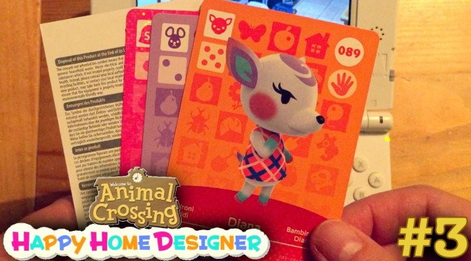 Sarah Plays Animal Crossing Happy Home Designer Part 3 – Handbook