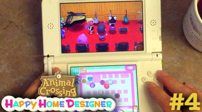 Sarah Plays Animal Crossing Happy Home Designer Part 4 U2013 School U0026 Seasons