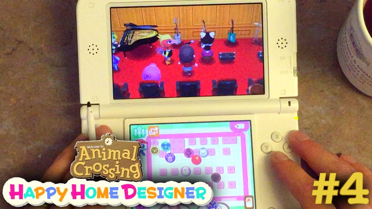 Sarah Plays Animal Crossing Happy Home Designer Part 4 – School & Seasons