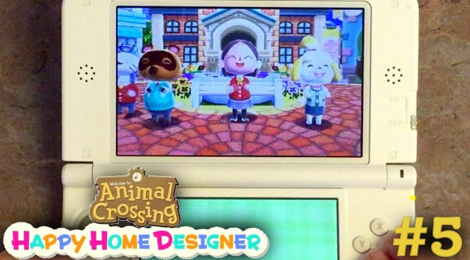 Sarah Plays Animal Crossing Happy Home Designer Part 5 – End Credits