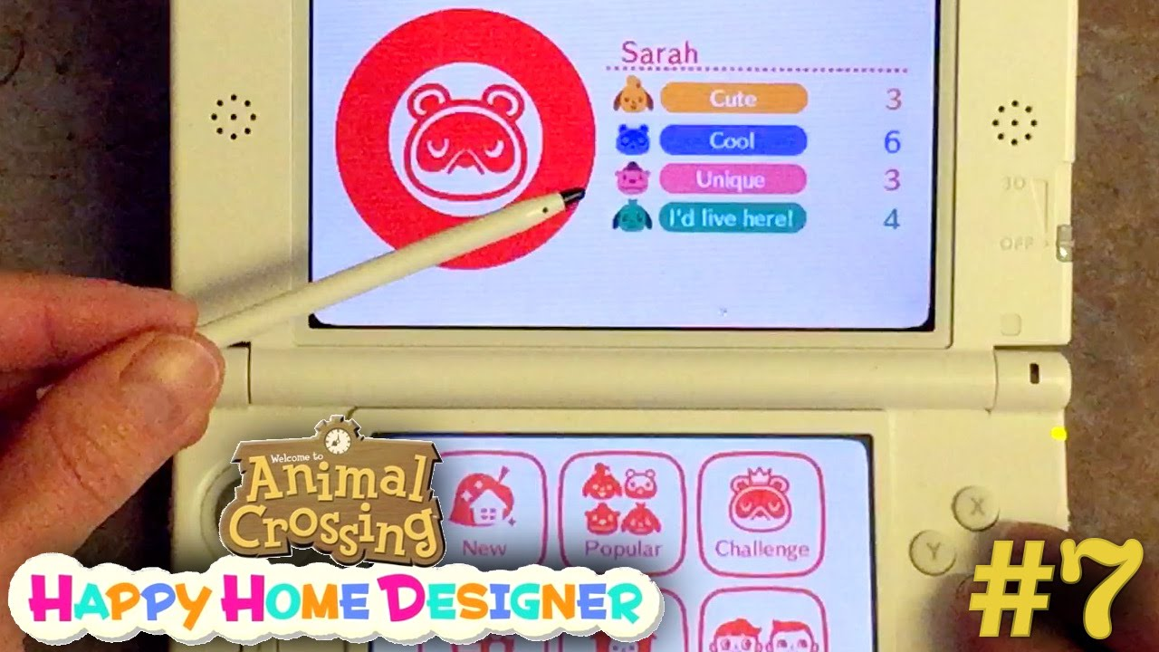 Sarah Plays Animal Crossing Happy Home Designer Part 7 – Happy Home Network