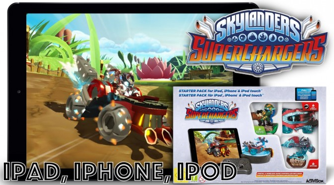 Skylanders Superchargers iOS (iPad, iPhone) Game-Play & Device List