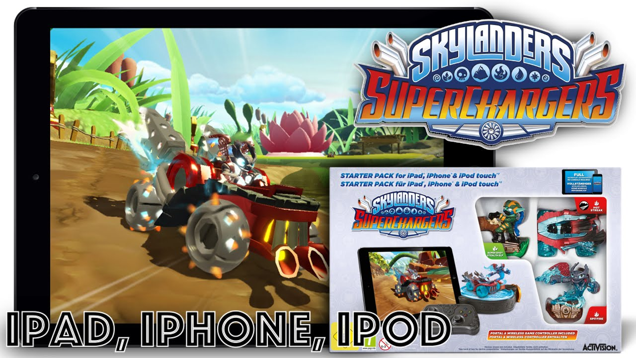 Skylanders Superchargers iOS (iPad, iPhone) Game-Play & Device List