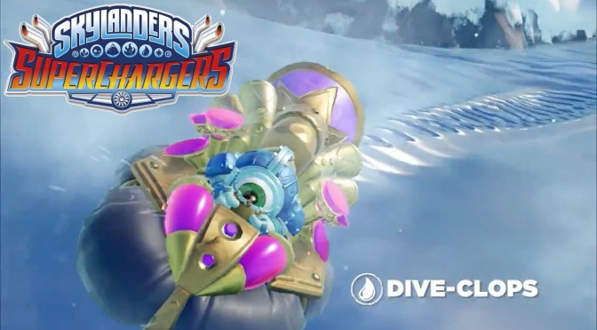 Skylanders Superchargers – Meet Dive Clops and Dive Bomber