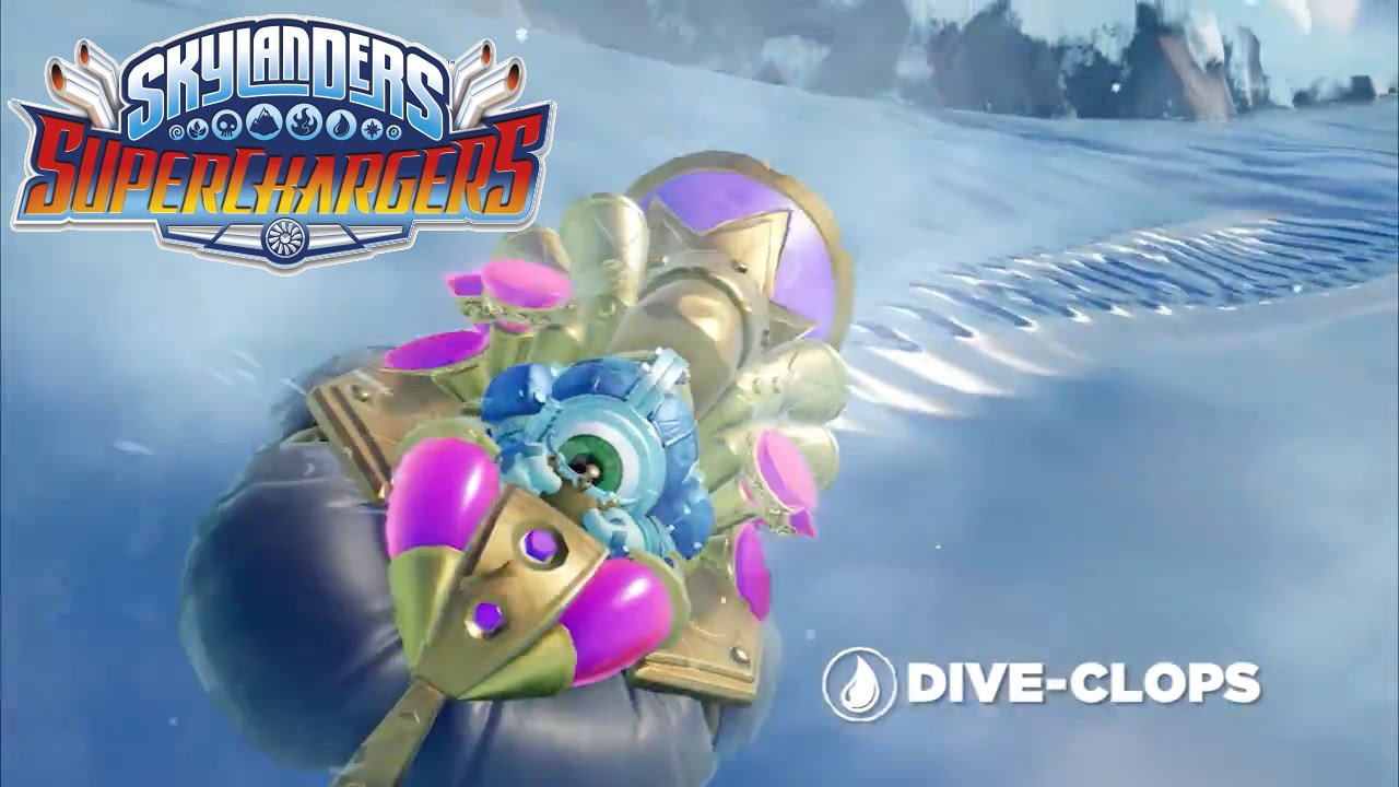 Skylanders Superchargers – Meet Dive Clops and Dive Bomber
