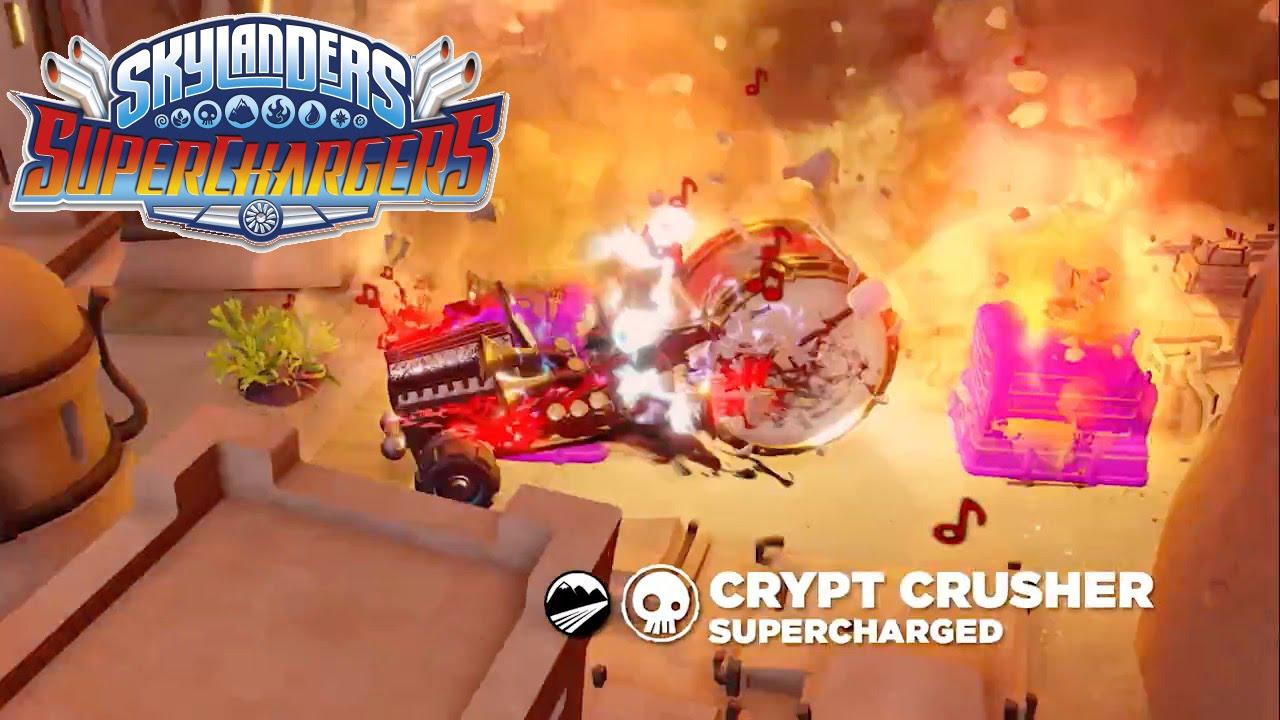 Skylanders Superchargers – Meet Fiesta & Crypt Crusher