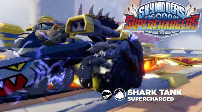 Skylanders Superchargers – Meet Shark Shooter Terrafin & Shark Tank