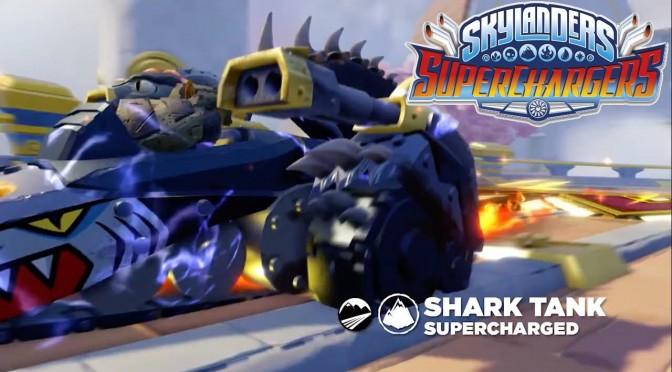 Skylanders Superchargers – Meet Shark Shooter Terrafin & Shark Tank