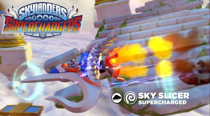Skylanders Superchargers – Meet Sky Slicer & Storm Blade