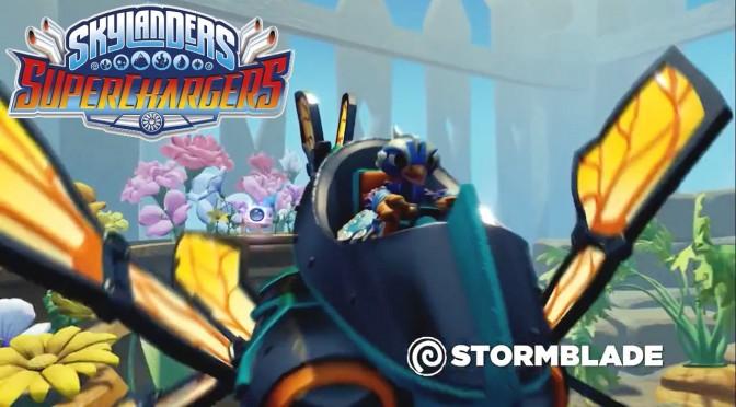 Skylanders Superchargers – Meet Stormblade & Sky Slicer