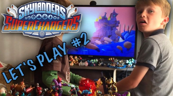 Skylanders Superchargers Part 2 – Exploring the Academy (Until Tea Time)