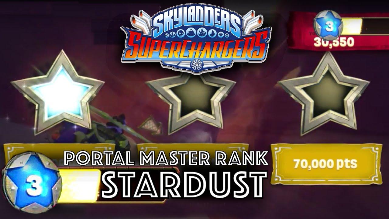 Skylanders SuperChargers – Stardust System = Portal Master Rank