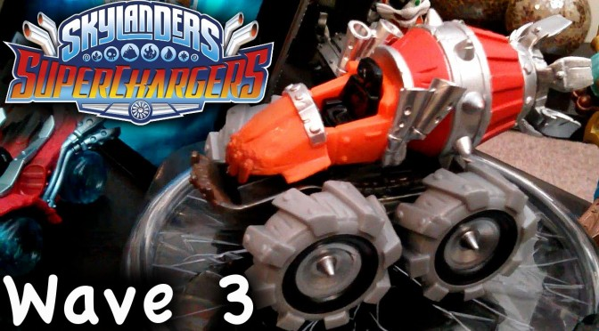 Skylanders Superchargers Thump Truck (Wave 3)  Unbox and Gameplay