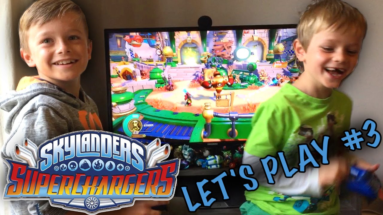 Skylanders Suprchargers Part 3 – Racing Land, Sea, Sky