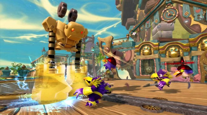 Skylanders Trap Team Extra – E3 Gameplay Footage, Art & Screenshots