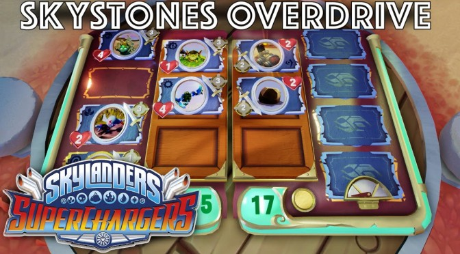 Skystones Overdrive –  Superchargers Game-Play