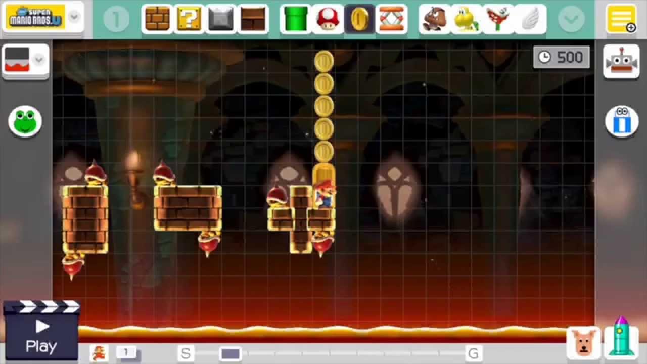 Super Mario Maker Challenge – Full Level Creation #1