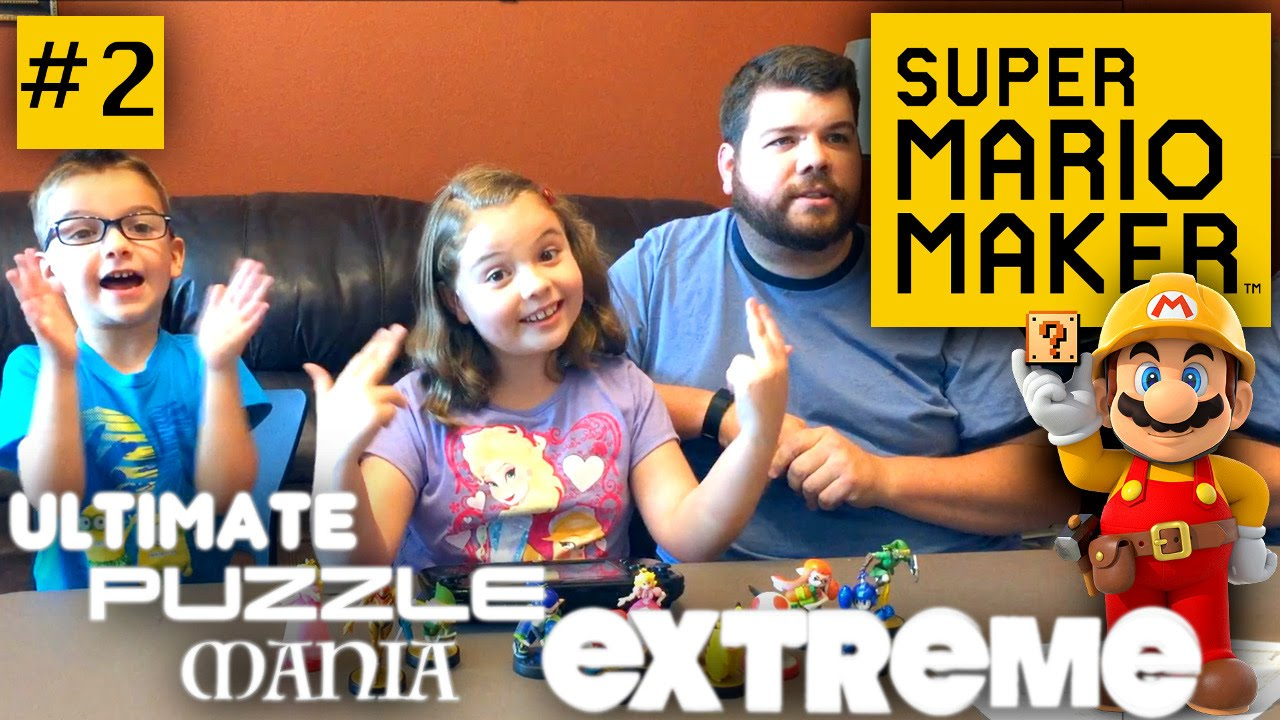 Super Mario Maker Family Challenge – Part 2