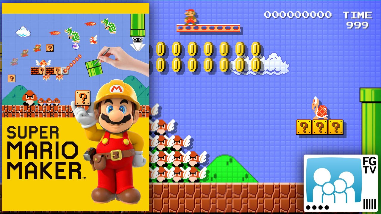 Super Mario Maker Guide (PEGI 3+)